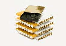 smoking causes smokers lungs