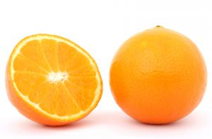 Picture of orange fruit, one of the foods high in vitamin c